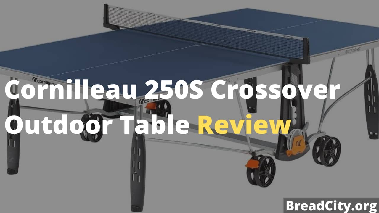 Cornilleau 250S Crossover Outdoor Table Review - Is it worth Buying?