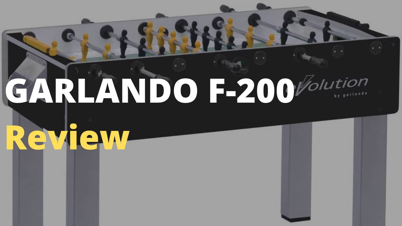 GARLANDO F-200 Foosball Table Review- Is it worth purchasing?