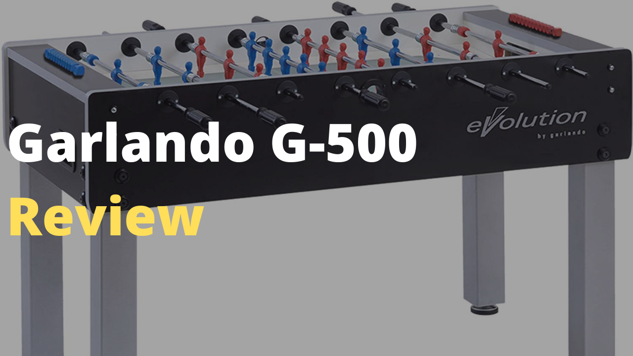 GARLANDO F-500 Foosball Table Review- Is it worth purchasing?