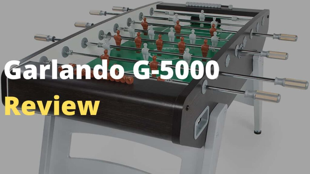 GARLANDO G-5000 FOOSBALL TABLE Review- Learn About This Indoor High-Quality Foosball Table - Bread City