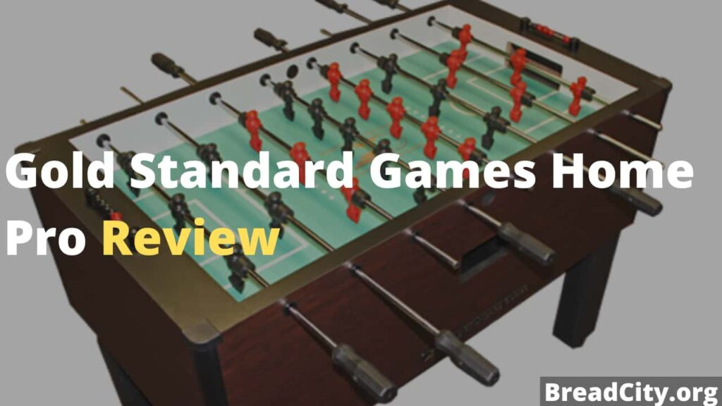 Gold Standard Games Home Pro Foosball Table Review - Is it Worth Buying? - BreadCity
