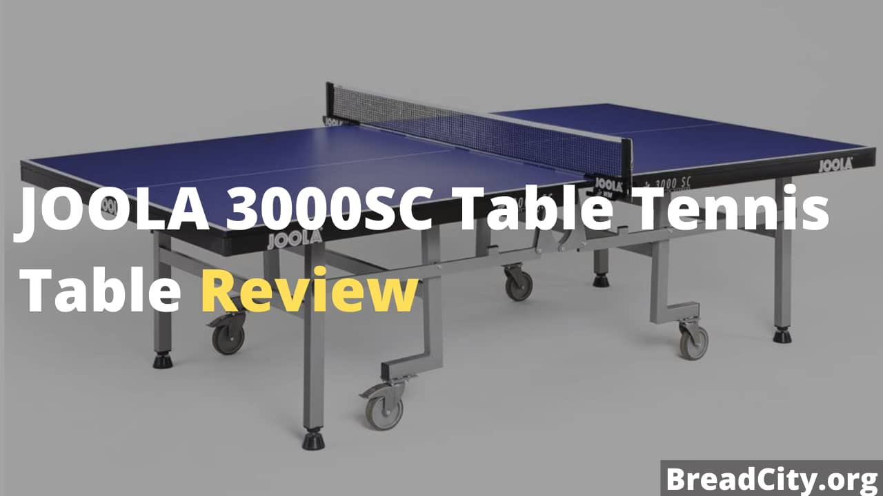 JOOLA 3000SC Table Tennis Table Review - Is it worth Buying? BreadCity