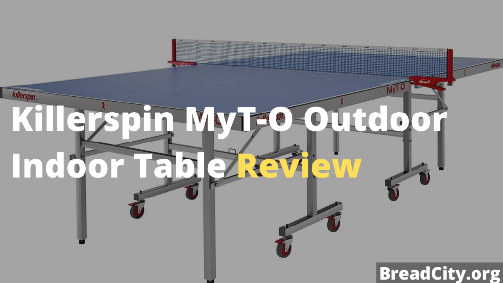 Killerspin MyT-O Outdoor Indoor Table Tennis Table Review - Is it worth Buying? My personal review