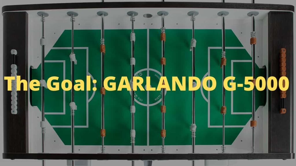 My review about GARLANDO G-5000 FOOSBALL TABLE - Is it worth buying? Bread City