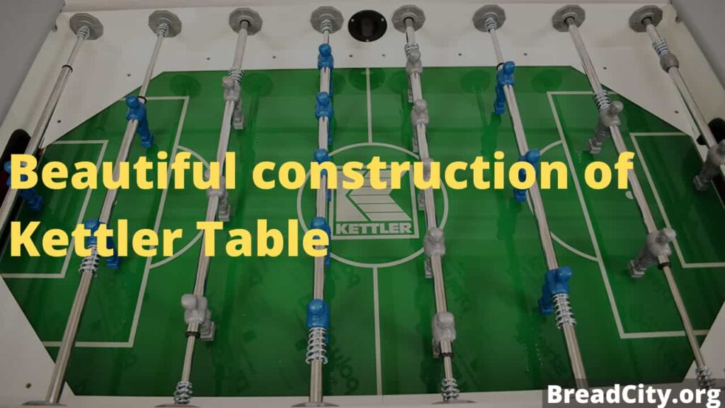 My review on Kettler Weatherproof Indoor:Outdoor Foosball Table - Is it worth buying? BreadCity