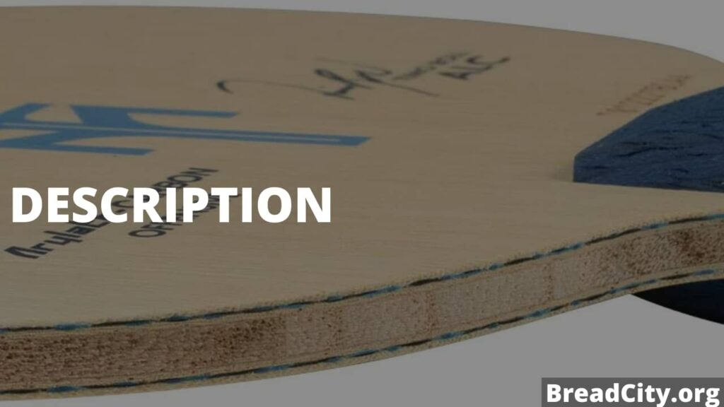 My review on Timo Boll ALC Table Tennis Blade - Should You But it or not? - BreadCity