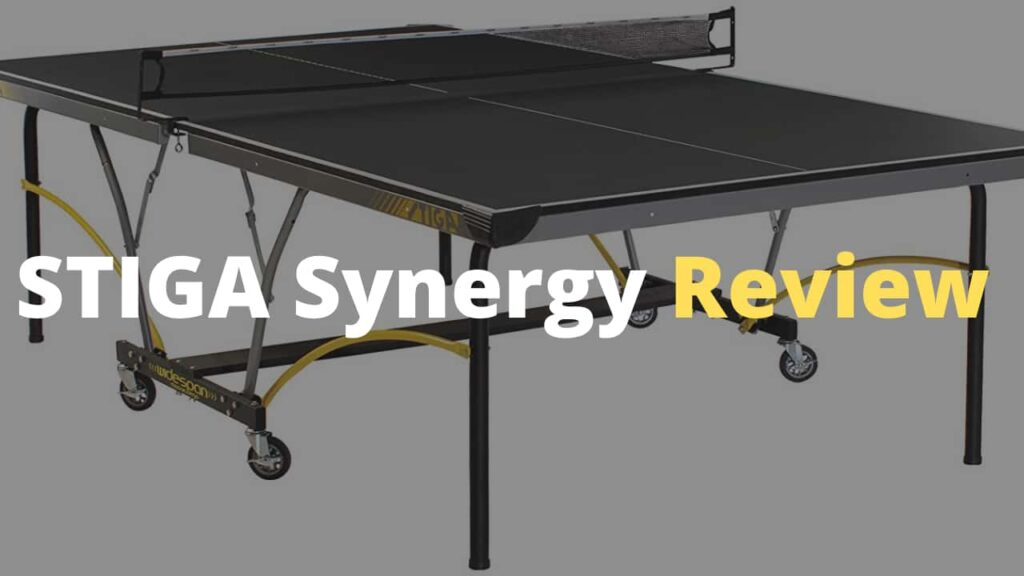 STIGA Synergy ping pong table Review - Is is Worth it?