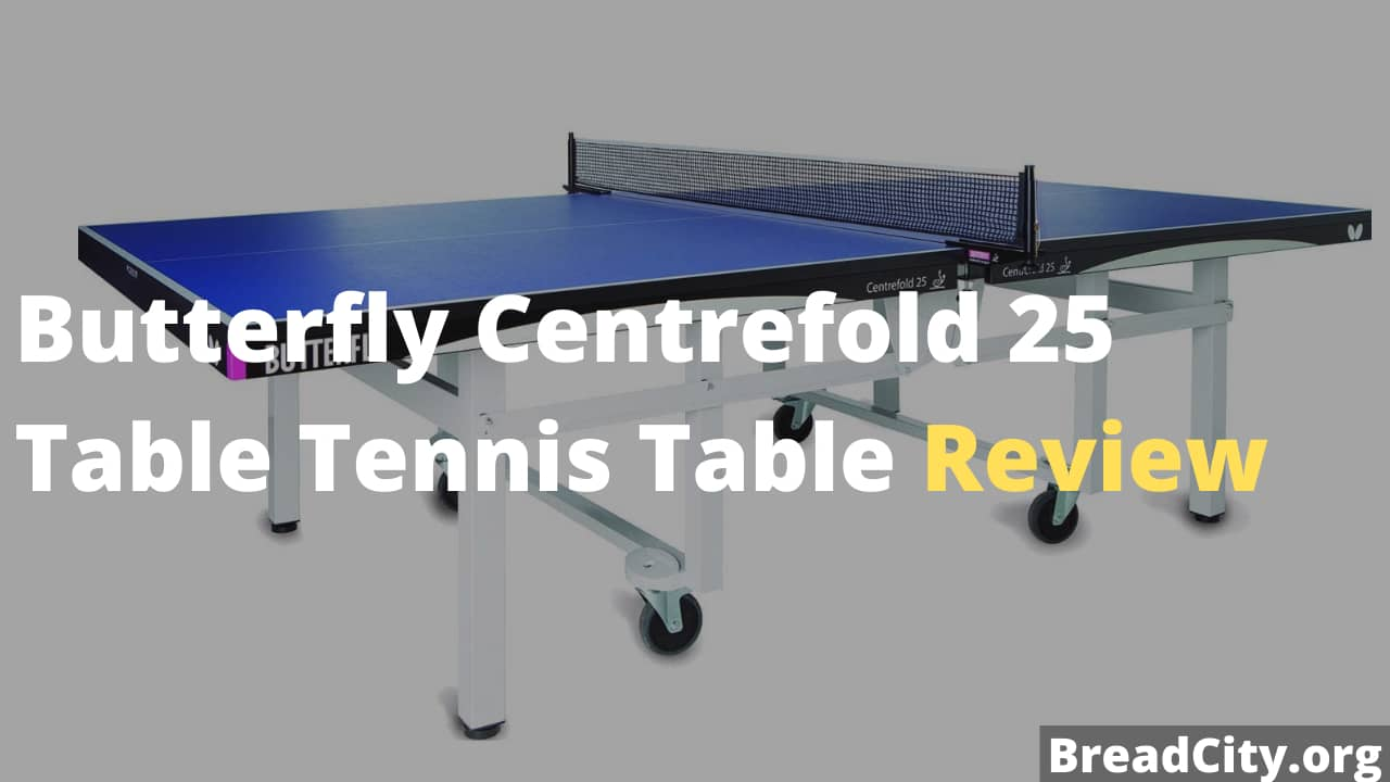 Butterfly Centrefold 25 Table Tennis Table Review - Is it worth Buying?