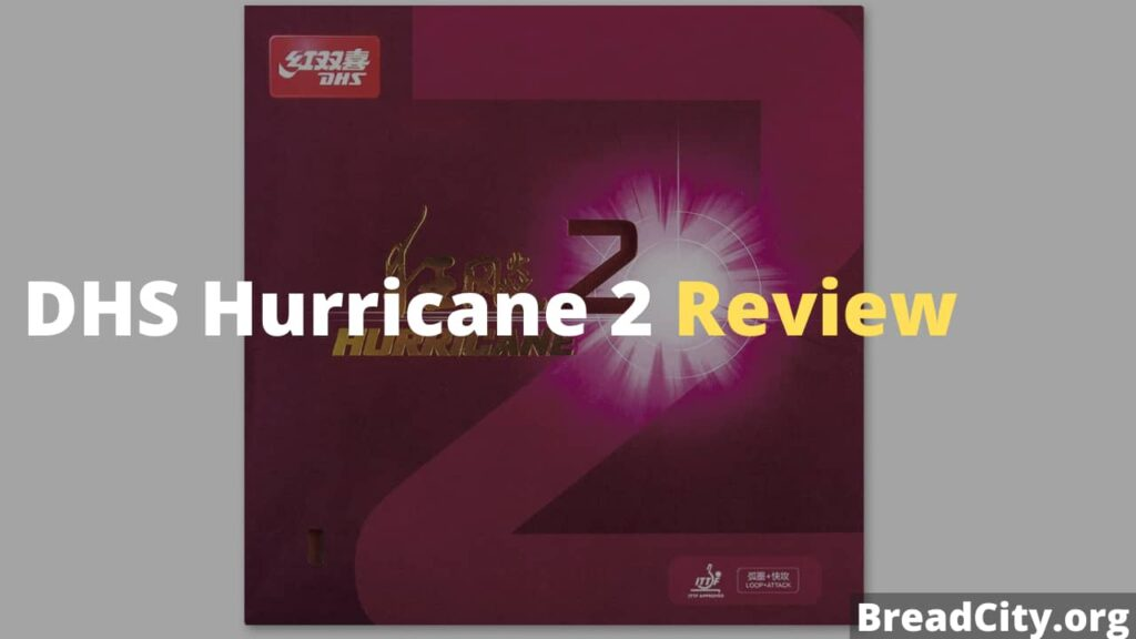 DHS Hurricane 2 Review - Is this table tennis rubber worth buying? My personal review
