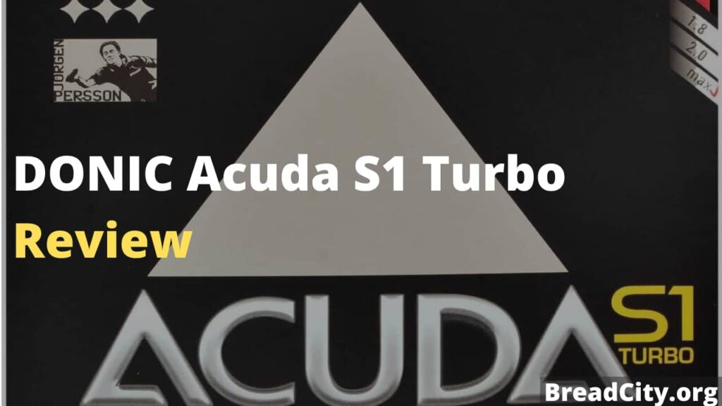 DONIC Acuda S1 Turbo Review - Is this Table tennis paddle rubber worth buying