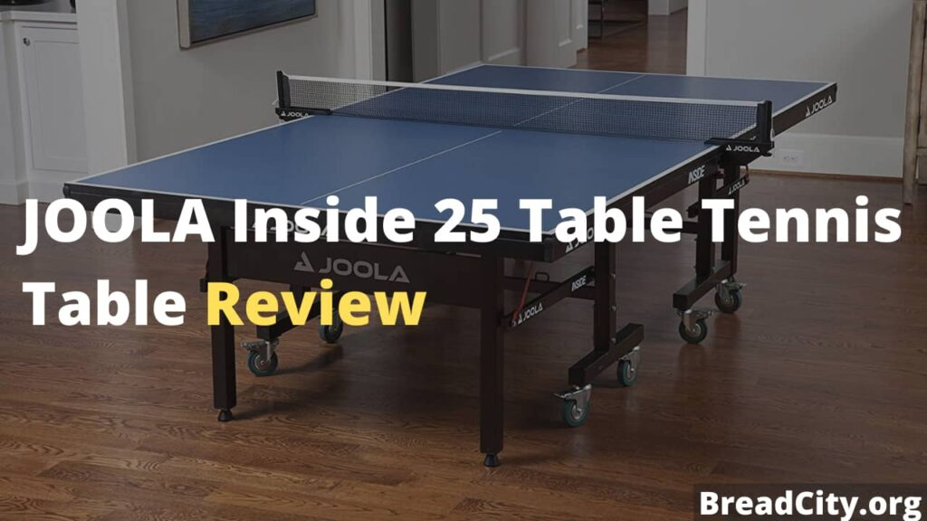 JOOLA Inside 25 Table Tennis Table Review - Is it worth buying?