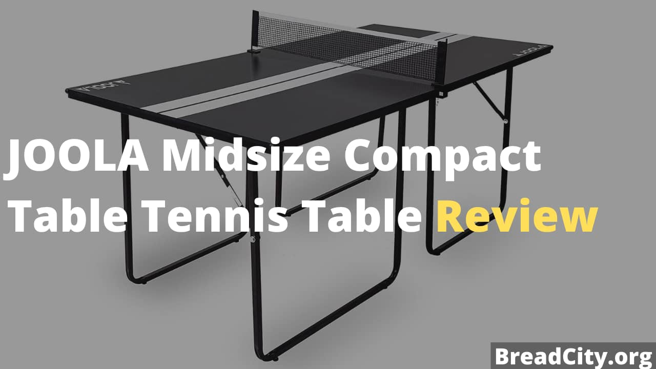 JOOLA Midsize Compact Table Tennis Table Review - Is it worth Buying?
