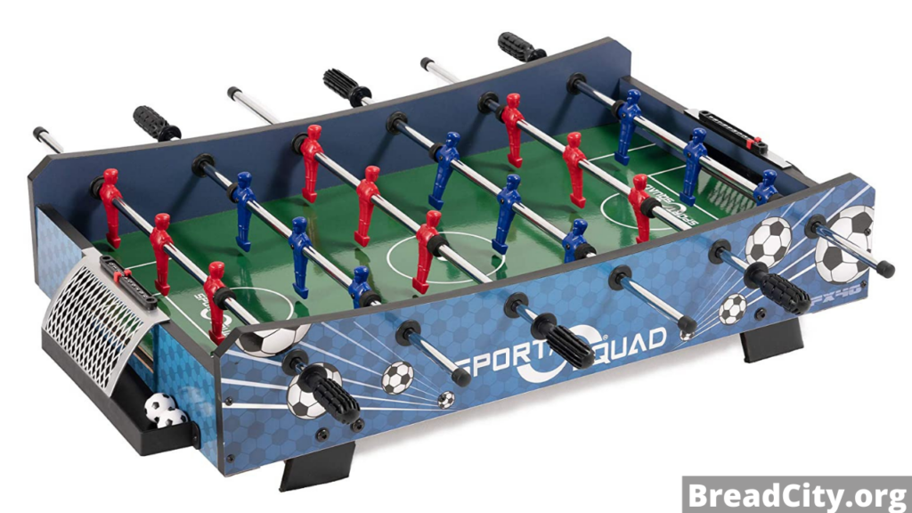 """My review on Sport Squad FX40 40"""" Table Top Foosball Table - Should you buy this foosball table"""