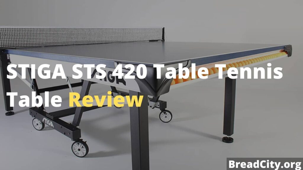 STIGA STS 420 Table Tennis Table Review - Is this table tennis table worth buying - My personal review