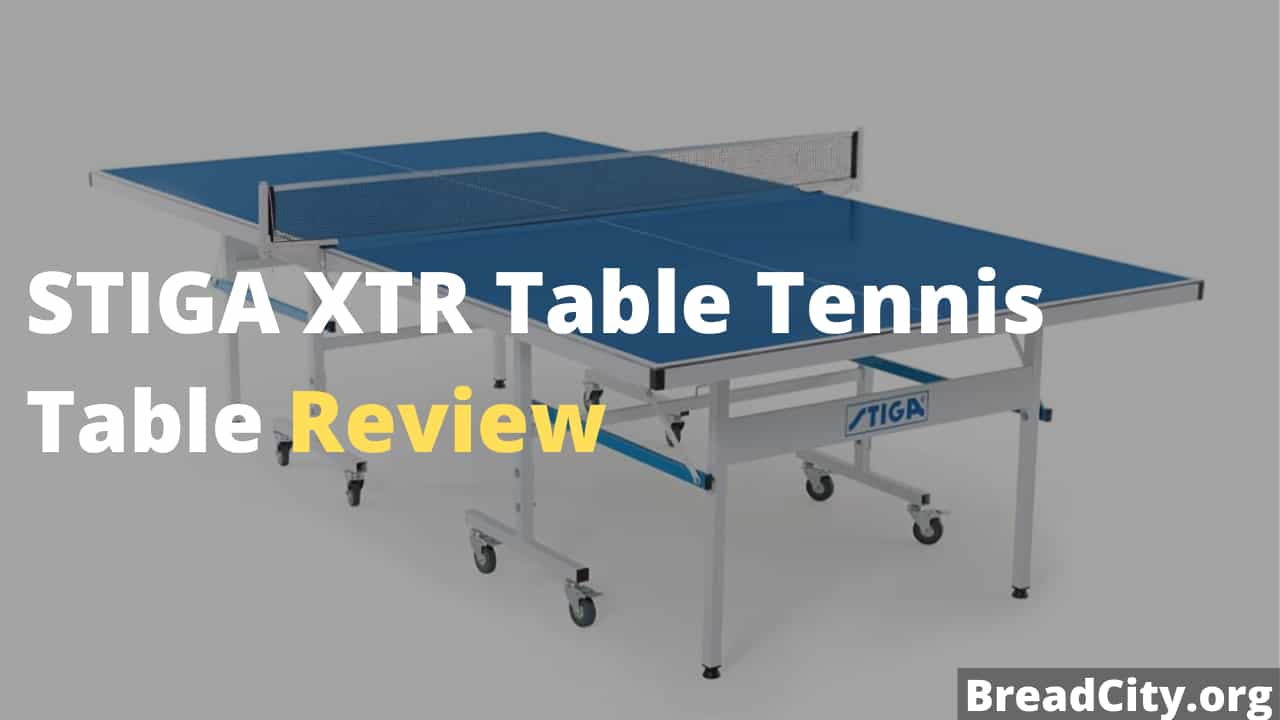 STIGA XTR Table Tennis Table Review - Is this table tennis table worth buying? My person review on this table