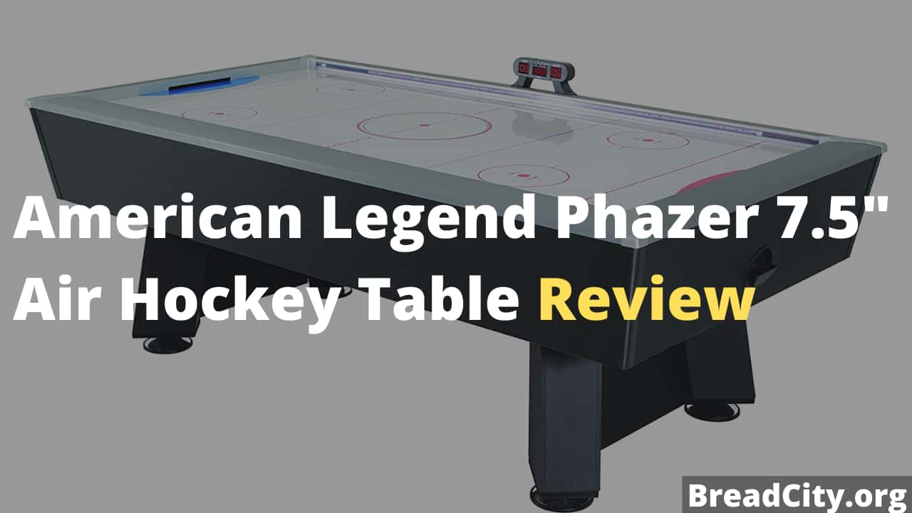 American Legend Phazer 7.5 Air Hockey Table Review - Is this air hockey table worth buying?
