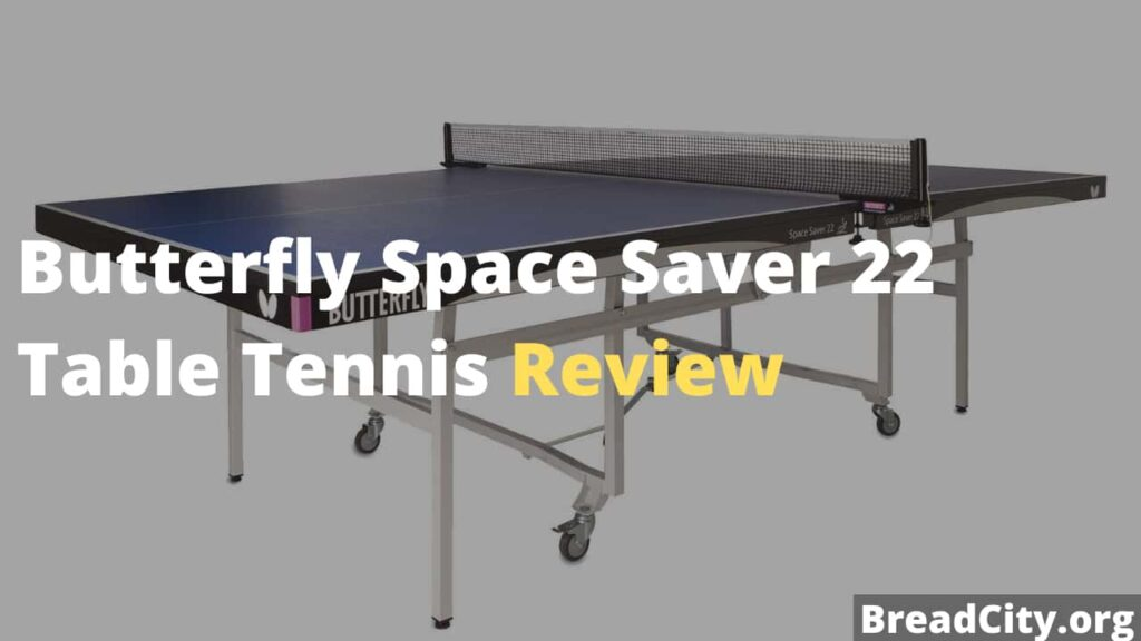Butterfly Space Saver 22 Table Tennis Table Review - Is it worth buying this table tennis table
