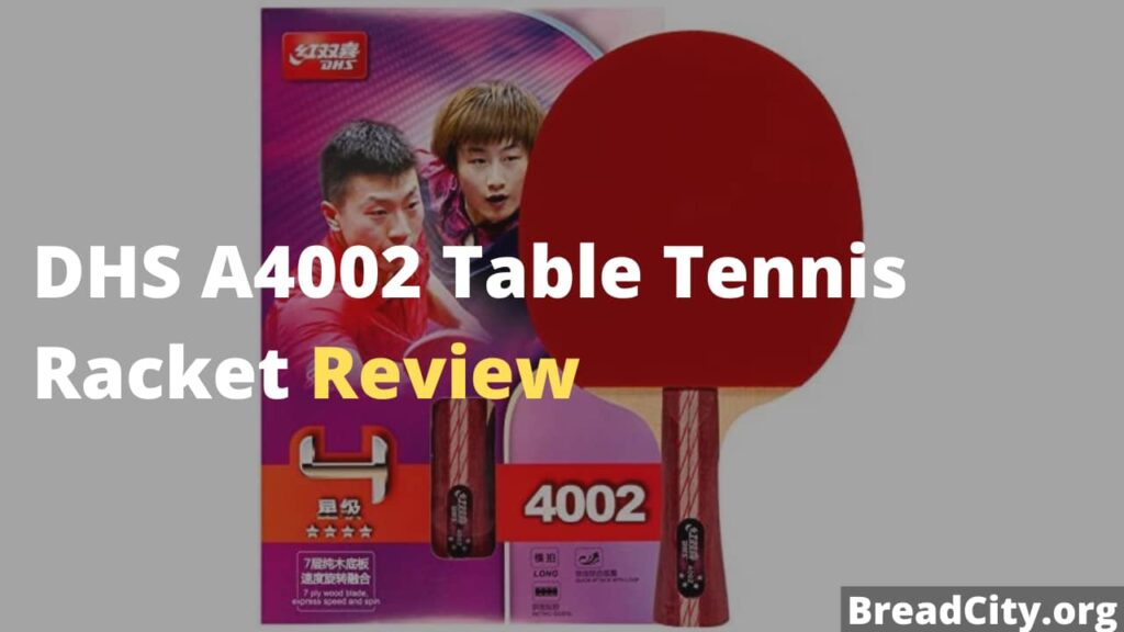 DHS A4002 Table Tennis Racket Review - Is this Table tennis racket worth buying?