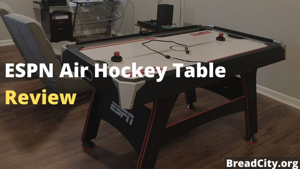 ESPN Air Hockey Table Review - Should you buy this air hockey table or not?