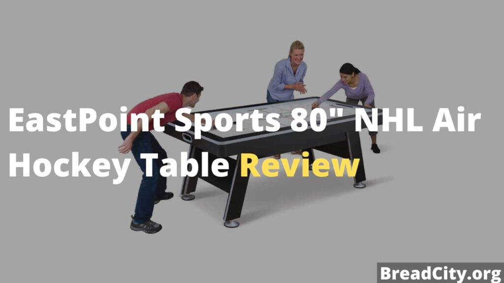 EastPoint Sports 80″ NHL Air Hockey Table Review - Is this air hockey table worth buying?