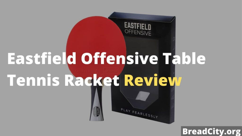 Eastfield Offensive Table Tennis Racket Review - my review on this table tennis blade