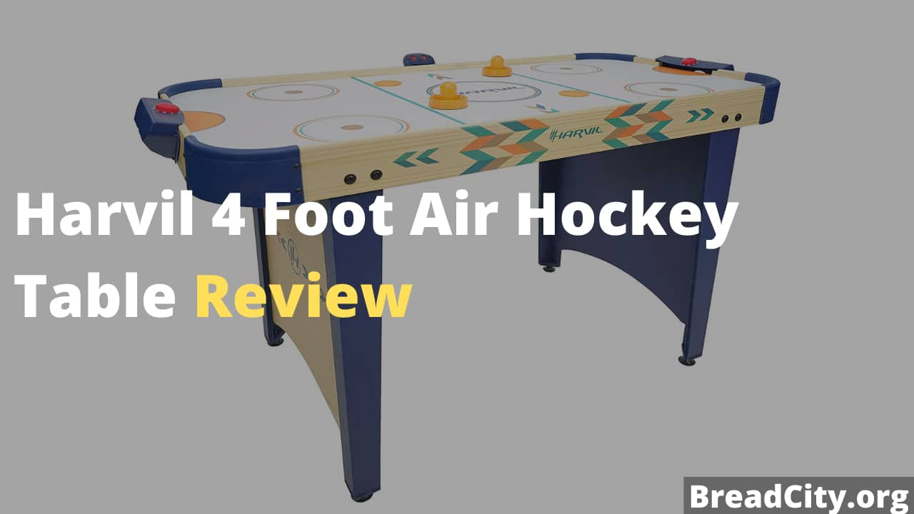 Harvil 4 Foot Air Hockey Table Review - Is this air hockey table worth buying?