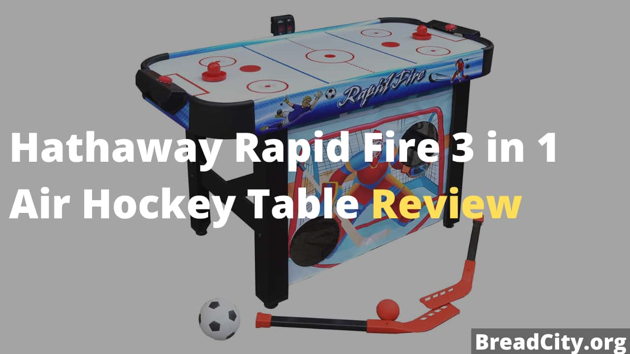 Hathaway Rapid Fire 3 in 1 Air Hockey Table Review - Is this air hockey table worth buying?