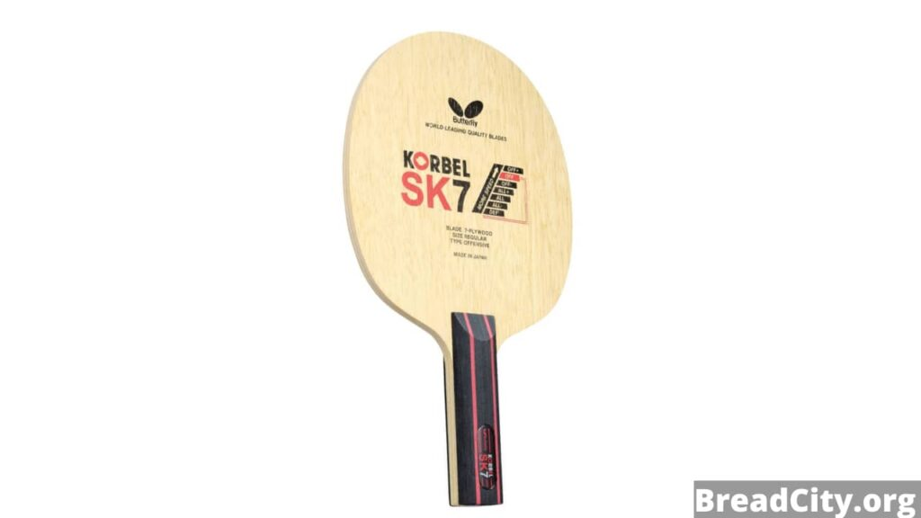 Is Butterfly Korbel SK7 Table Tennis Racket worth buying? My review and specs on this ping pong racket - BreadCity