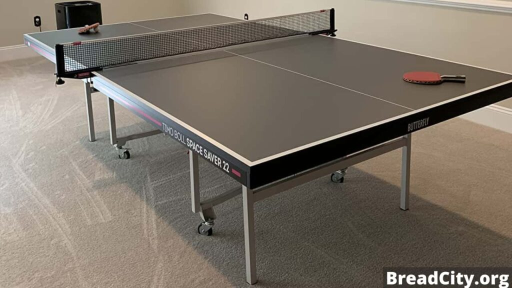 Is Butterfly Space Saver 22 Table Tennis worth buying? Review and specification of this table tennis table