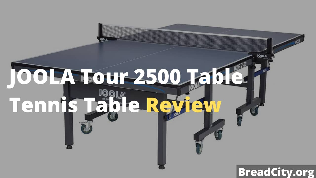 JOOLA Tour 2500 Table Tennis Table Review - Is this ping pong table worth buying? BreadCity