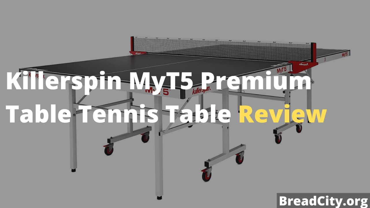 Killerspin MyT5 Premium Table Tennis Table Review - Is it worth buying this table tennis table