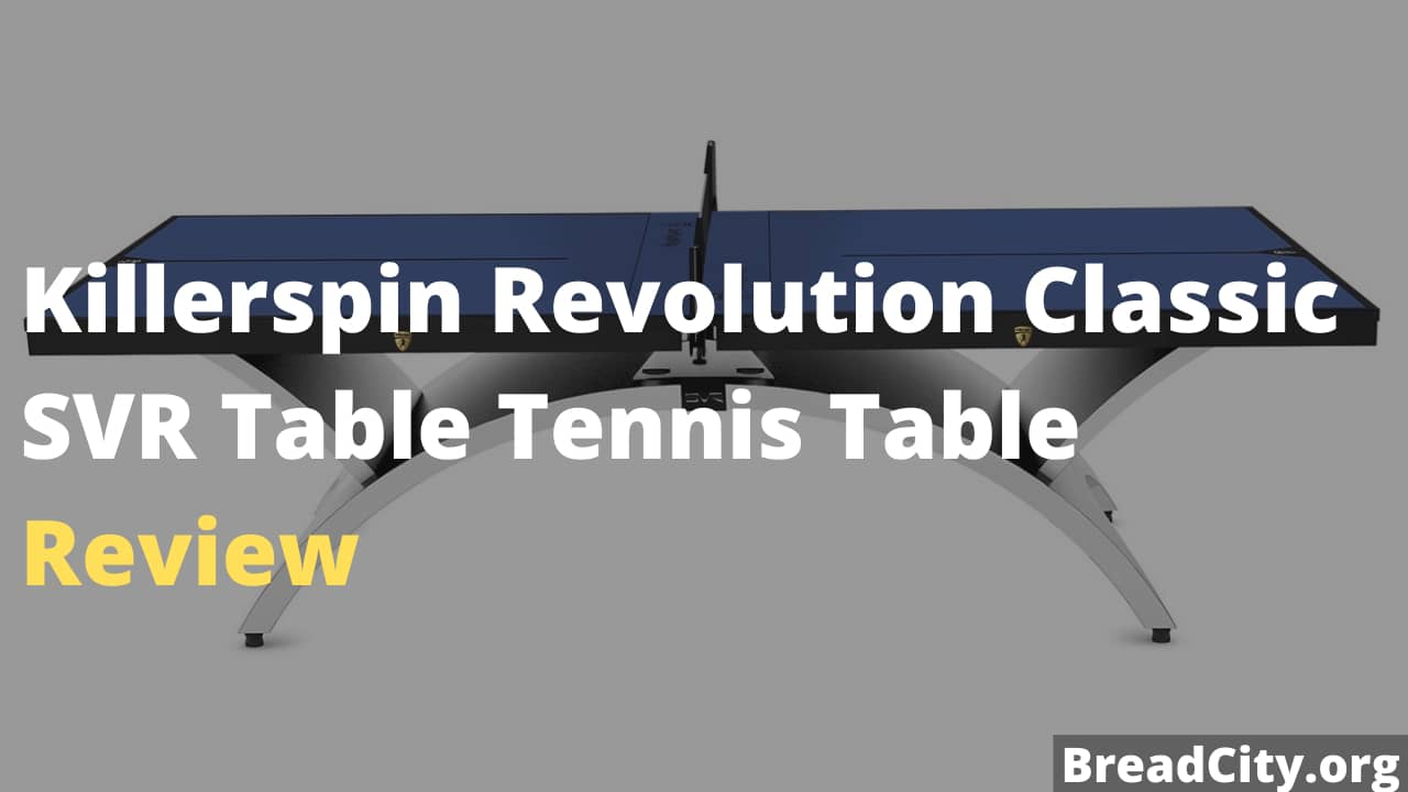 Killerspin Revolution Classic SVR Table Tennis Table Review - Is this table tennis table worth buying?