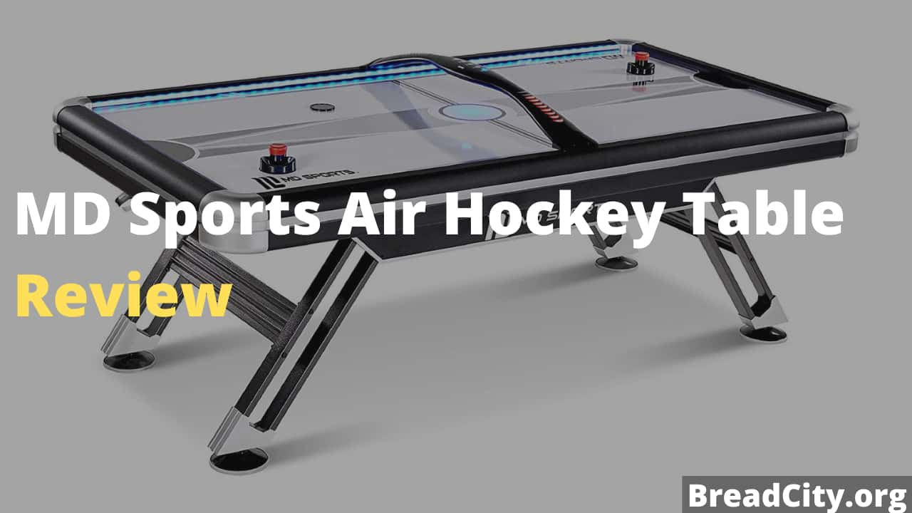 MD Sports Air Hockey Table Review - Is it worth buying this foosball table?