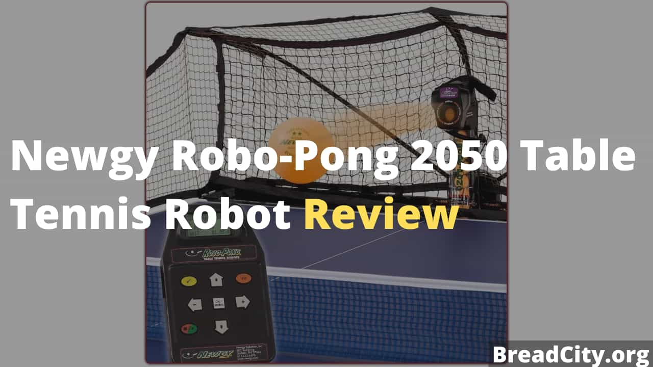 Newgy Robo-Pong 2050 Table Tennis Robot Review - Is this table tennis robot worth buying?