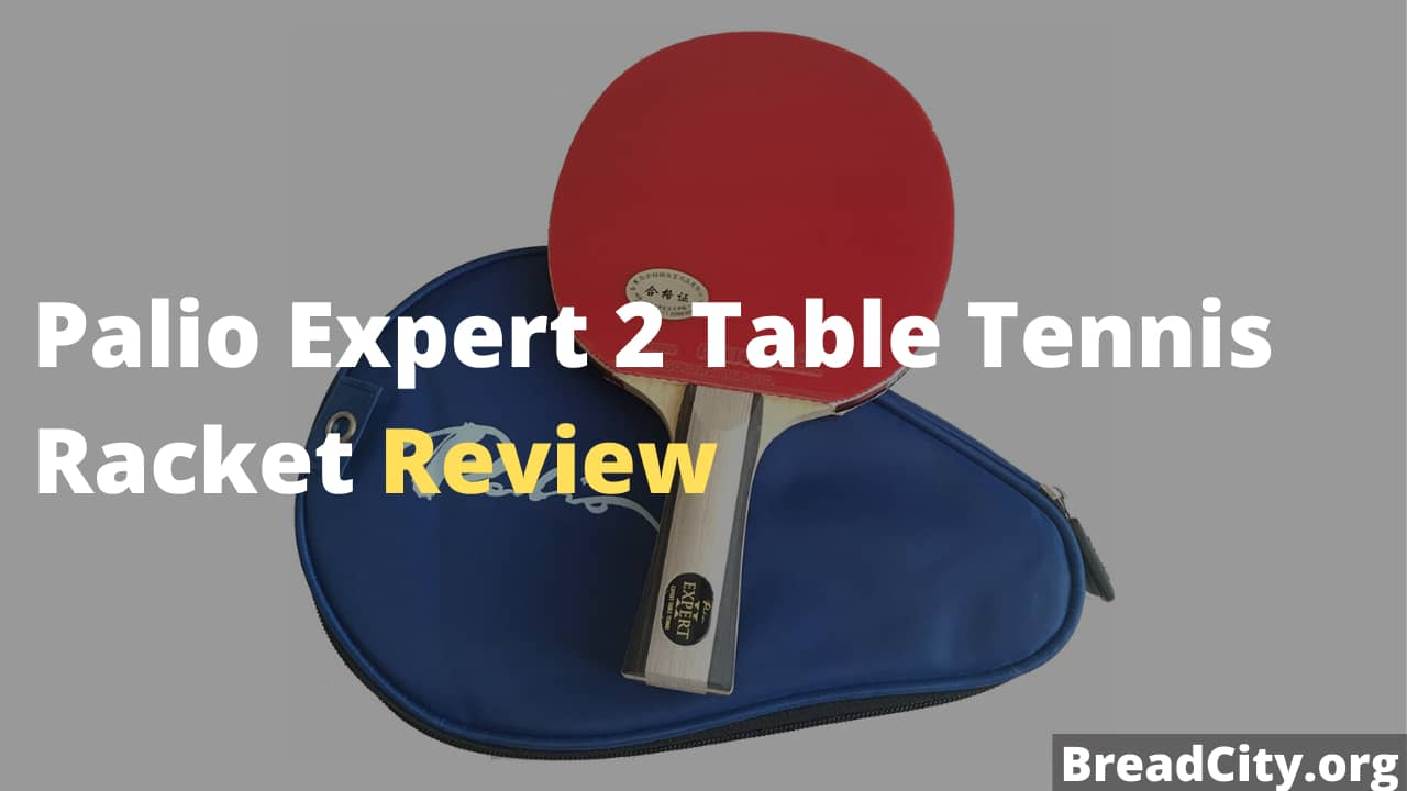 Palio Expert 2 Table Tennis Racket Review - Is this table tennis racket worth buying?