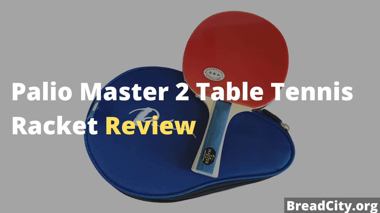 Palio Master 2 Table Tennis Racket Review - Should you buy this table tennis paddle