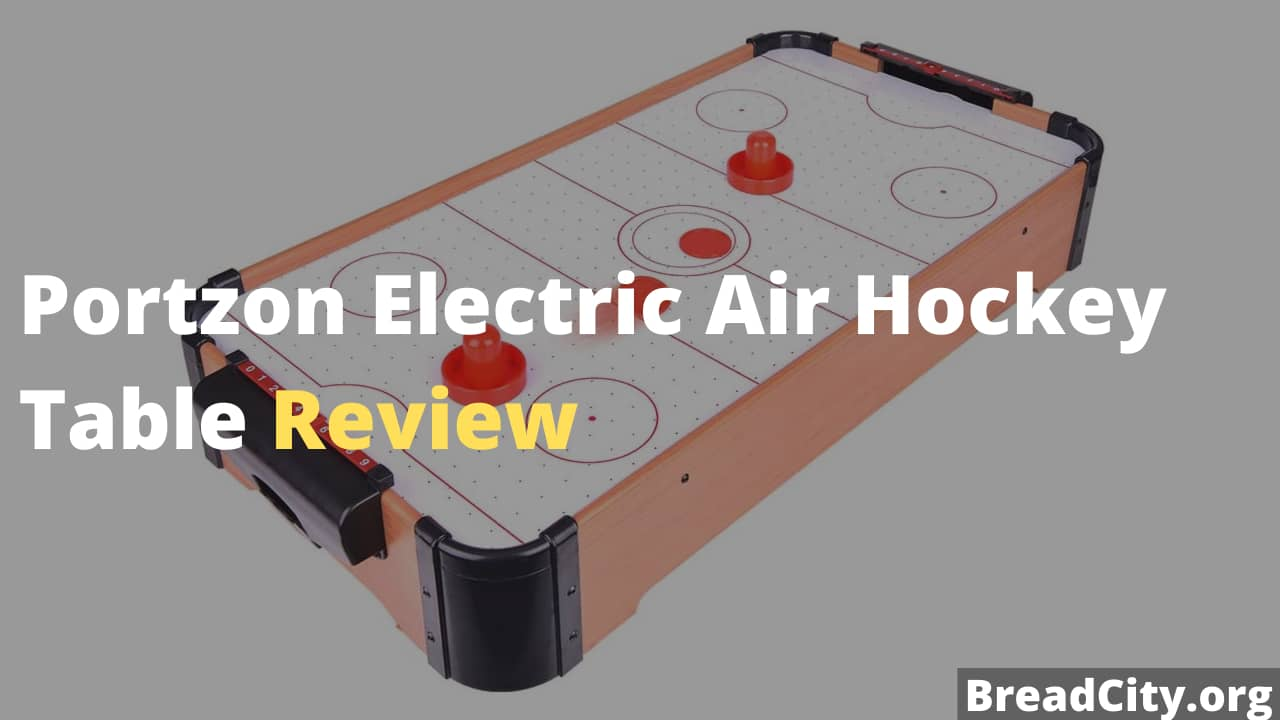 Portzon Electric Air Hockey Table Review - Is this air hockey table worth buying?