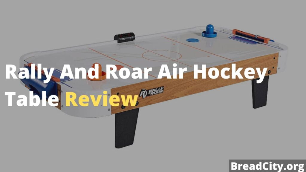 Rally And Roar Air Hockey Table Review - Is it worth buying this air hockey table?