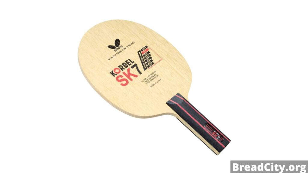 Should you buy Butterfly Korbel SK7 Table Tennis Racket? My honest review and features of this table tennis blade
