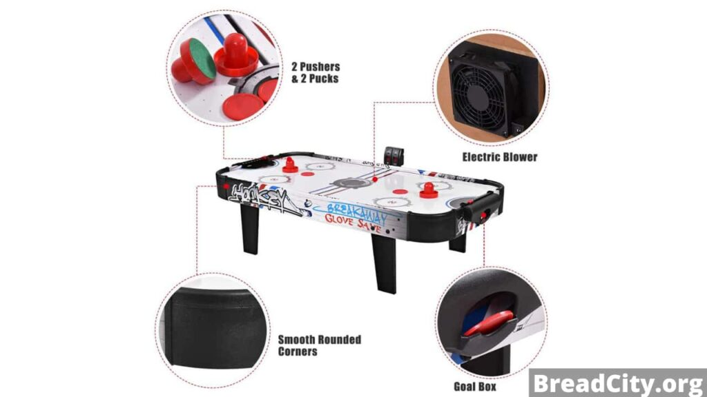 Should you buy Goplus Air Hockey Table? My honest review and specification about this air hockey table