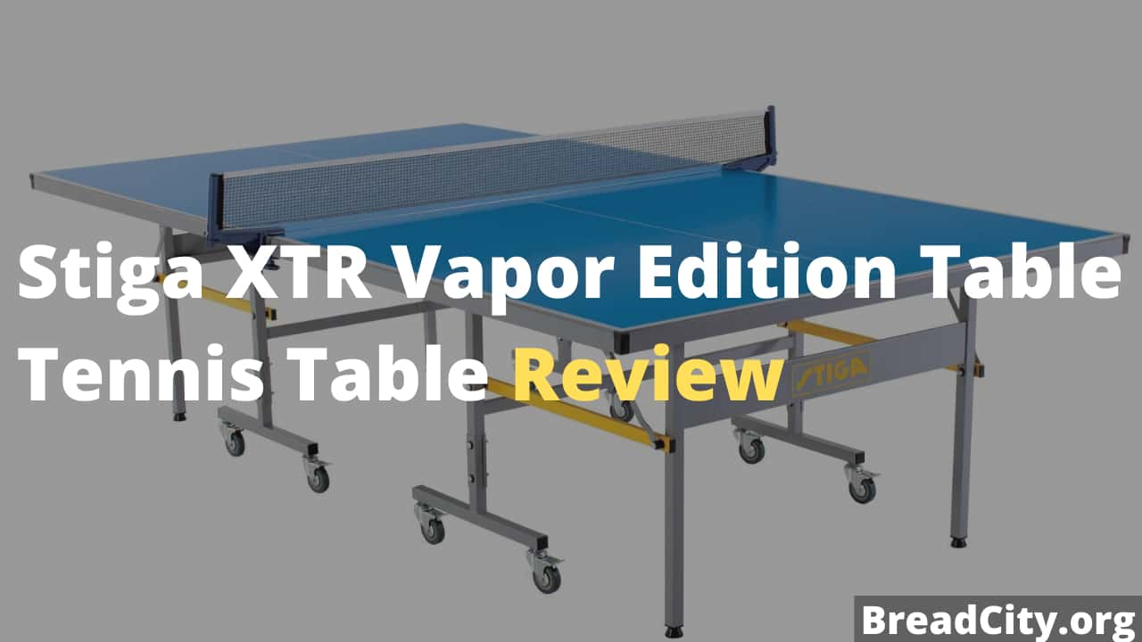 Stiga XTR Vapor Edition Table Tennis Table Review - Is this table tennis table worth buying?