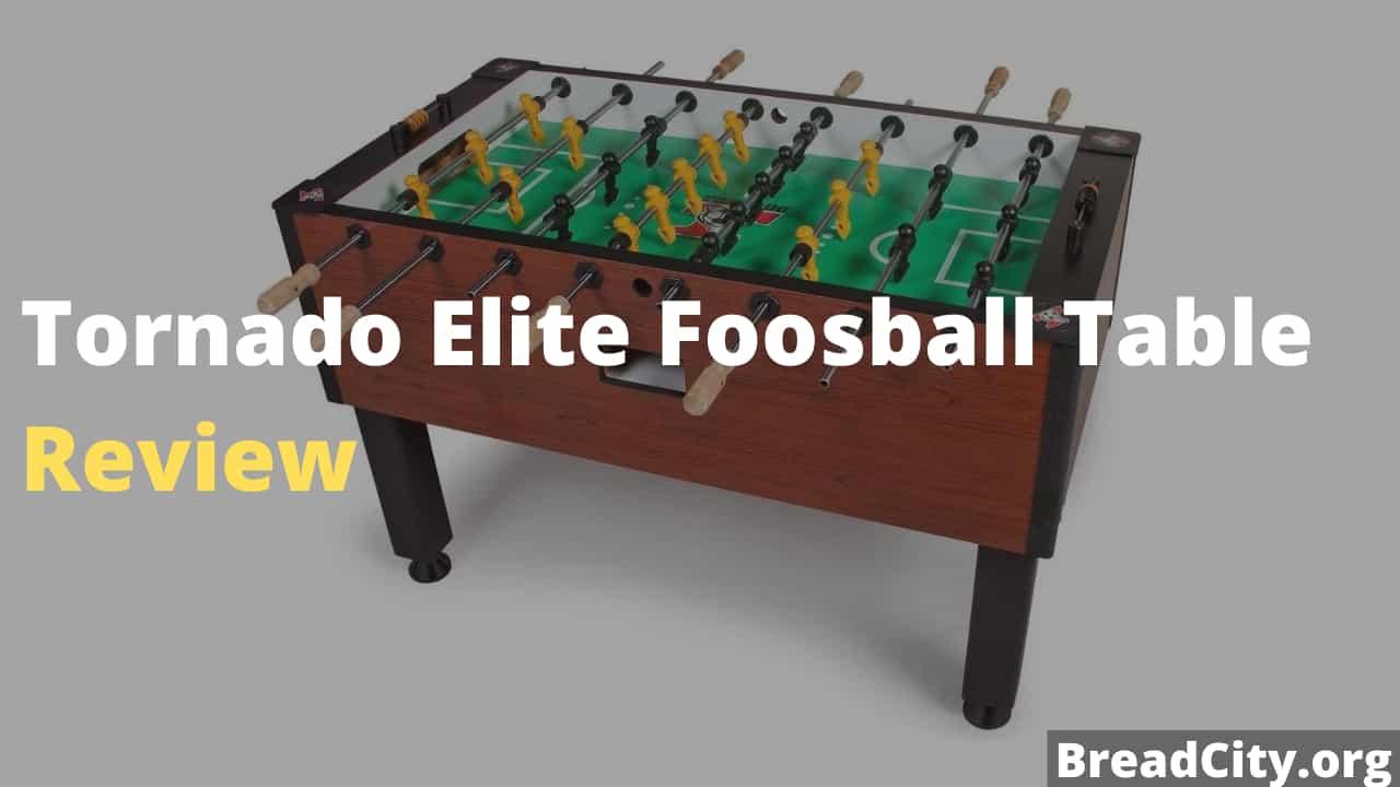 Tornado Elite Foosball Table Review - Is this foosball table worth buying?