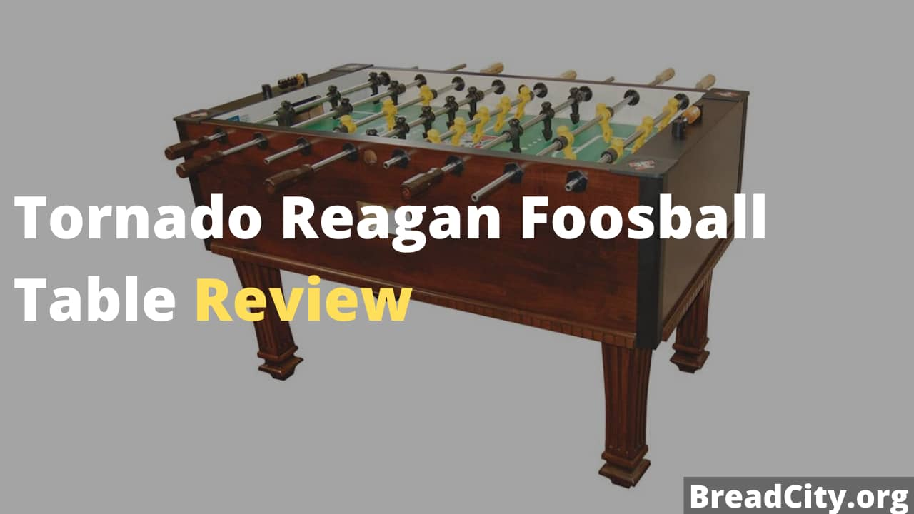 Tornado Reagan Foosball Table Review - Is it worth buying this foosball table?