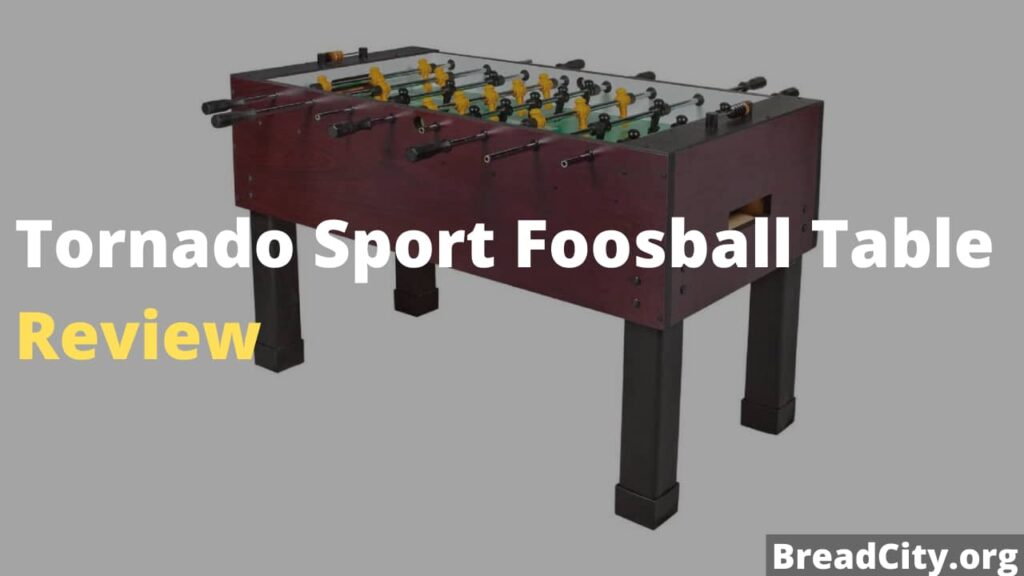 Tornado Sport Foosball Table Review - shoul you buy this foosball table? My honest review