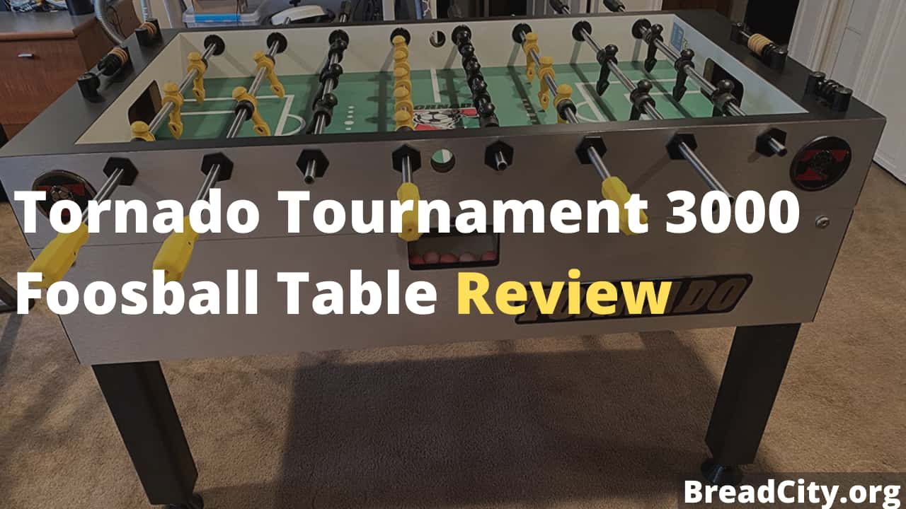 Tornado Tournament 3000 Foosball Table Review - Is it worth buying?