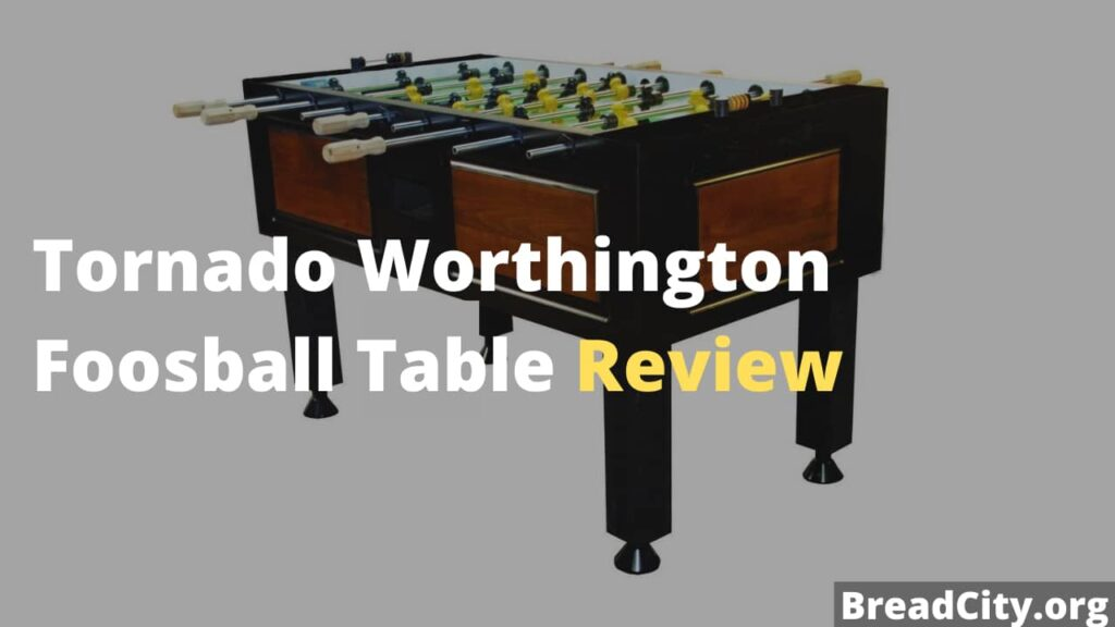 Tornado Worthington Foosball Table Review - Should you buy it? My review on this foosball table