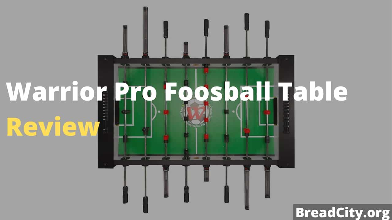 Warrior Pro Foosball Table Review - Is this foosball table worth buying?